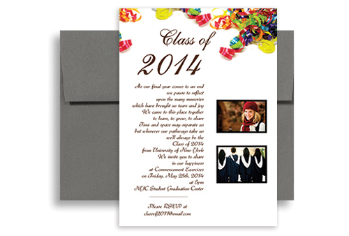 free graduation party invitations